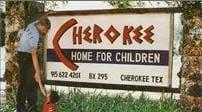 Cherokee Home for Children sign